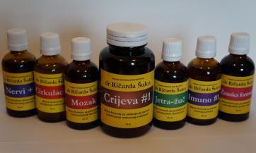 Biljne formule prema receptima dr Šulca i dr Kristofera - tinkture, čajevi, mješavine...