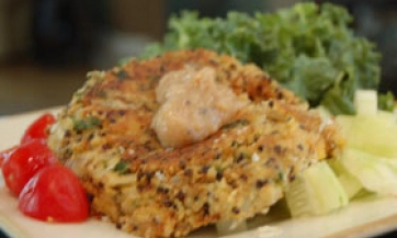 Sirovi ljetnji falafel