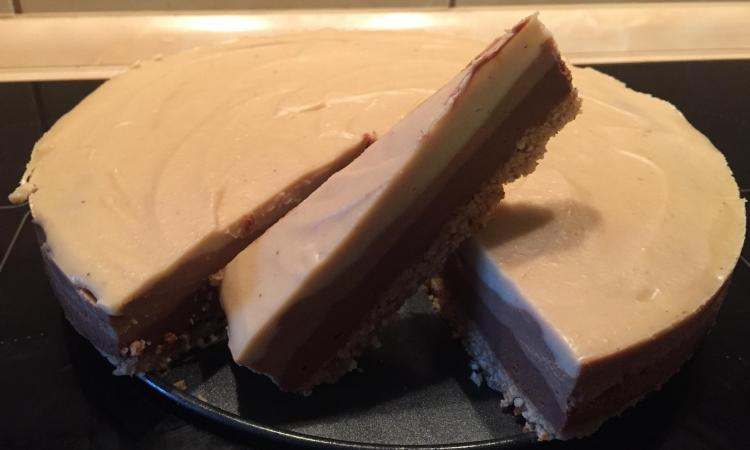 Sirova torta od 3 vrste zdrave čokolade