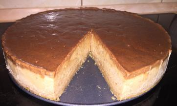 Sirova sladoled torta od banana