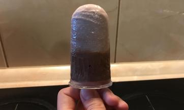 Zdravi čokoladno-voćni sladoled