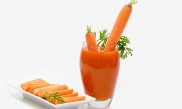Za početak sok od šargarepe