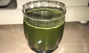 Zeleni ukusni sok za djecu i odrasle